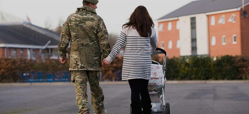 Armed Forces Covenant Northamptonshire military family