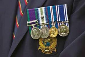 Armed Forces medals