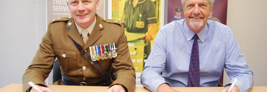 Kettering General Hospital signs Armed Forces Covenant